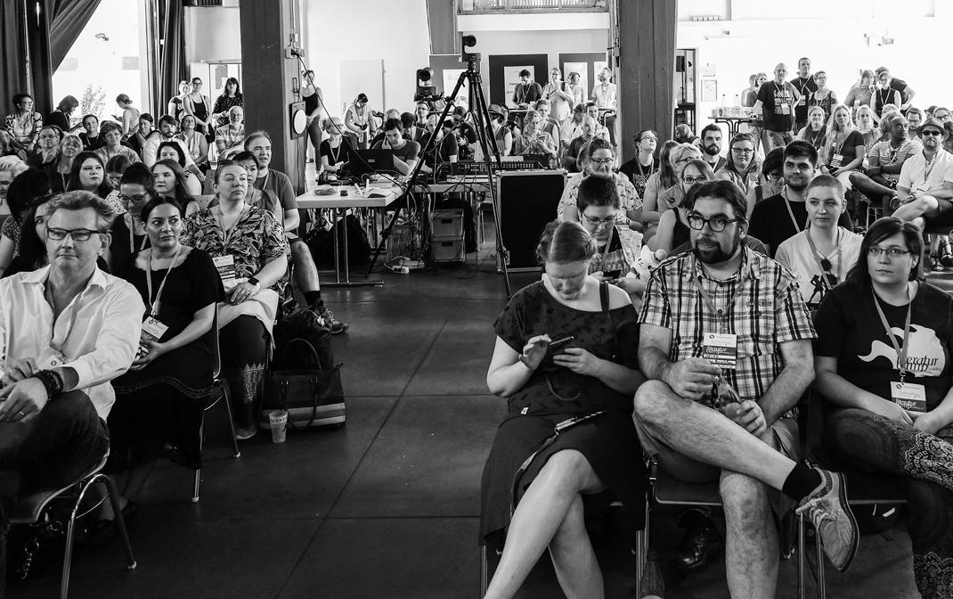 #Litcamp19 in Heidelberg: Schlaglichter
