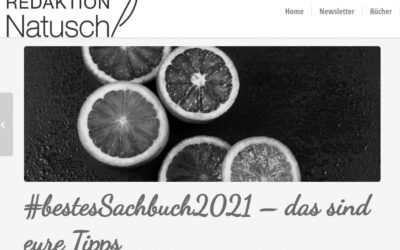 Jede Menge Tipps: Blogparade bestes Sachbuch2021 bei Cordula Natusch